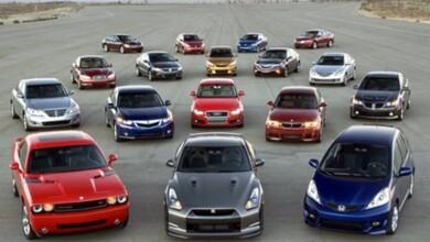 Çeşitli arabalar