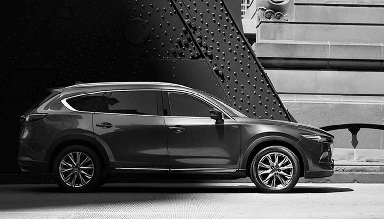 Yeni Kasa Mazda CX-8 Modelinin İlk Fotoğrafları Paylaşıldı