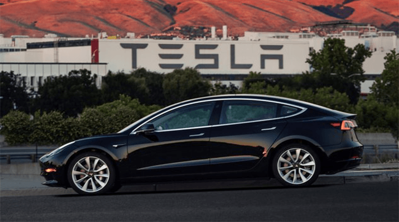 Tesla Model 3 Elektrikli Araba Modeli