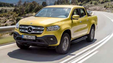 2018 Mercedes X Serisi Pick-up (Pikap)