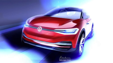 Volkswagen I.D CROZZ Frankfurt'ta
