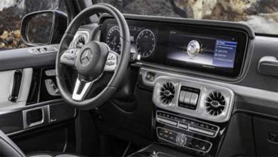 2019 Mercedes G Serisi İç Mekan Görselleri Yayınlandı