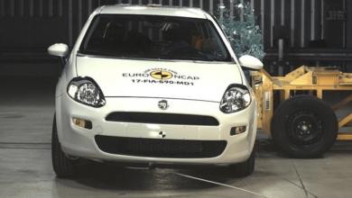 Fiat Punto'ya Euro NCAP'te Şok Puan