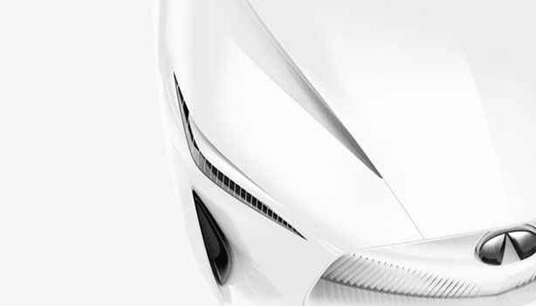 Infiniti Sedan Concept'ten İlk Görsel Yayınlandı