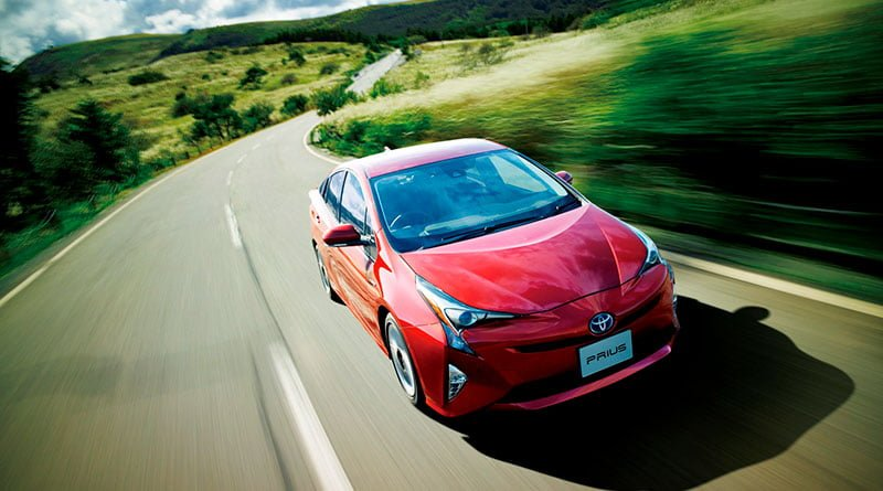 Toyota Prius Hibrit Otomobil Modeli