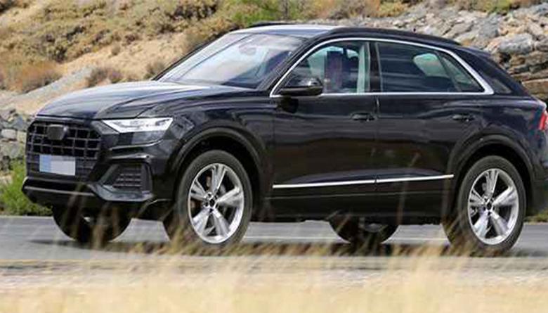 2018 Audi Q8 Test Sürüşlerine Devam Ediliyor