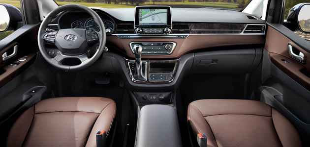 2018-Hyundai-Starex - İç Mekan