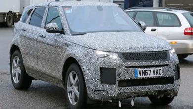 2019 Range Rover Evoque Görüntülendi