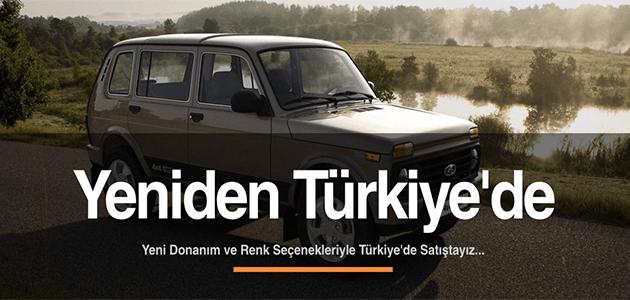 Lada Türkiye Resmi Web Sayfasından Bir Görüntü