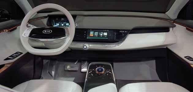Yeni Kia Niro EV - İç Mekan