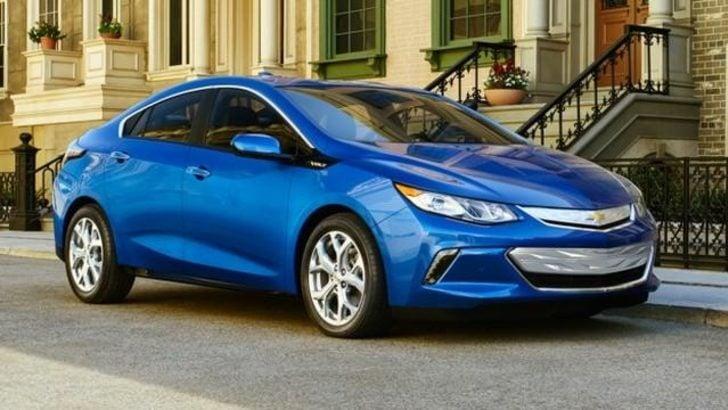 Chevrolet Volt Elektrikli Otomobil Modeli