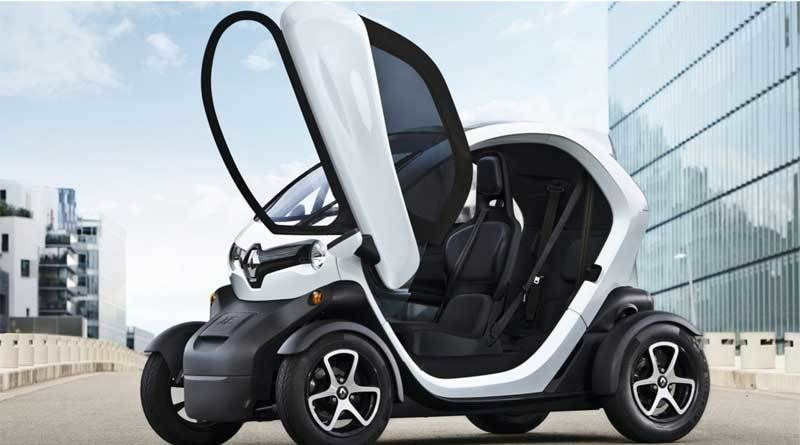 Renault Twizy Elektrikli Araba Modeli