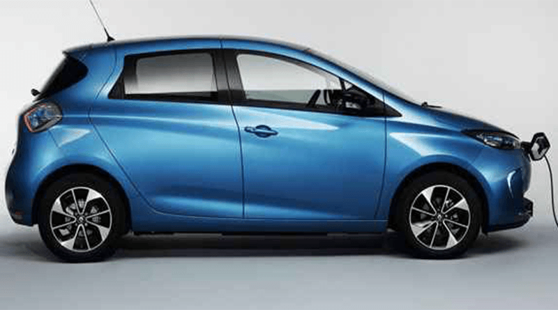 Renault Zoe Elektrikli Araba Modeli