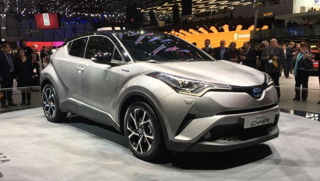 Toyota C-HR Hibrit Araba Modeli