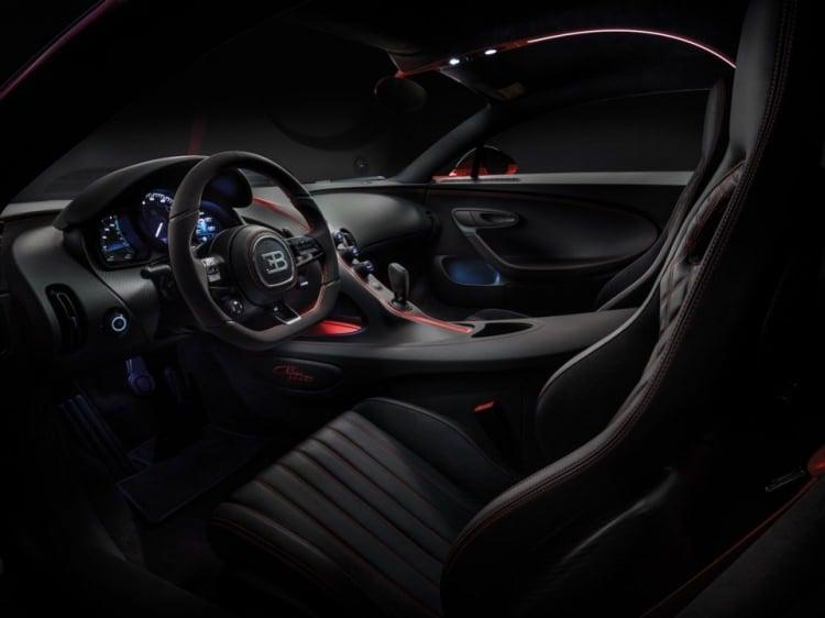 2018-2019 Bugatti Chiron Sport - İç Mekan