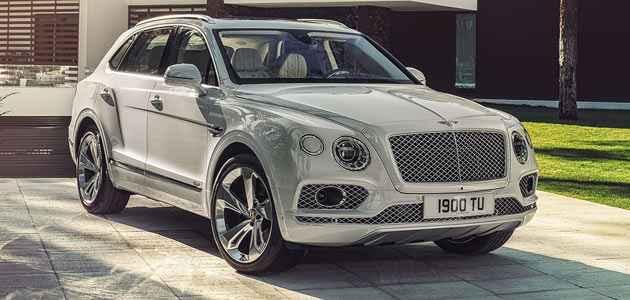 2019 Bentley Bentayga Hibrit Modeli