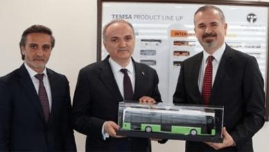 Temsa'nın Yeni Elektrikli Otobüs Modeli Test Edildi