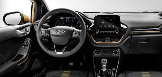 2019 Ford Fiesta Active - İç Mekan