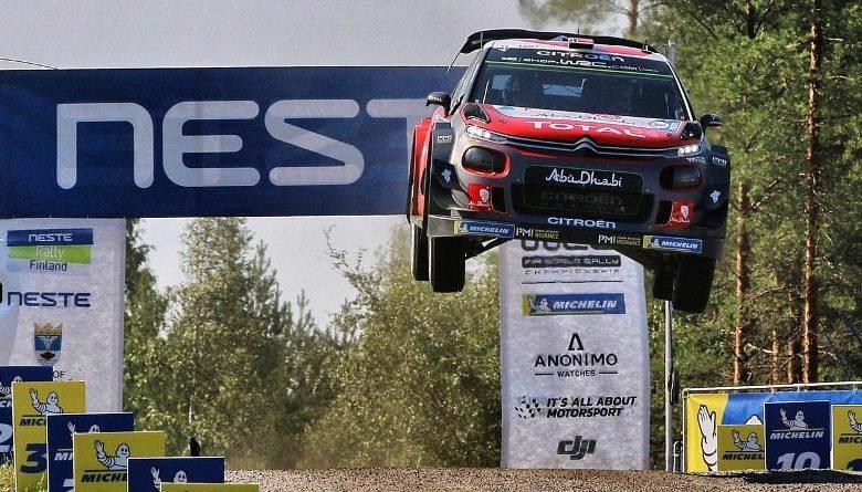 CITROËN C3 WRC Üçüncü Kez Podyumda