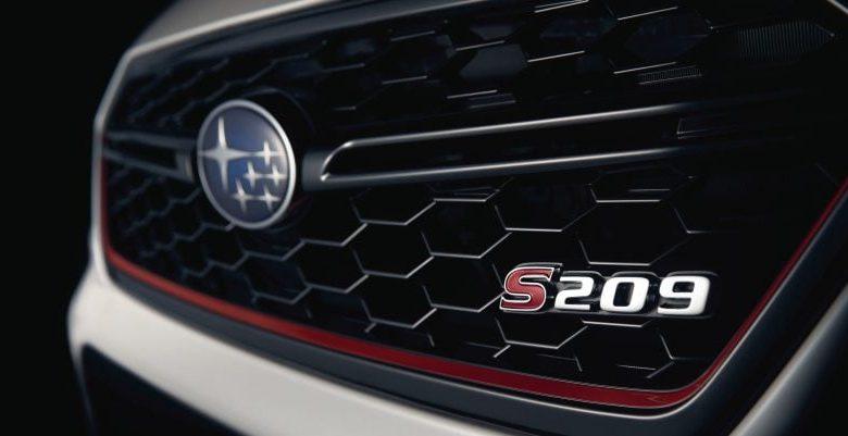 Photo of Subaru WRX STI S209 Özel Versiyonu Detroit'te Tanıtılacak