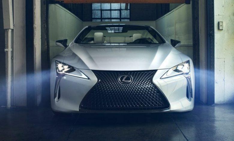 Photo of Lexus LC Convertible Concept Yüzünü Gösterdi