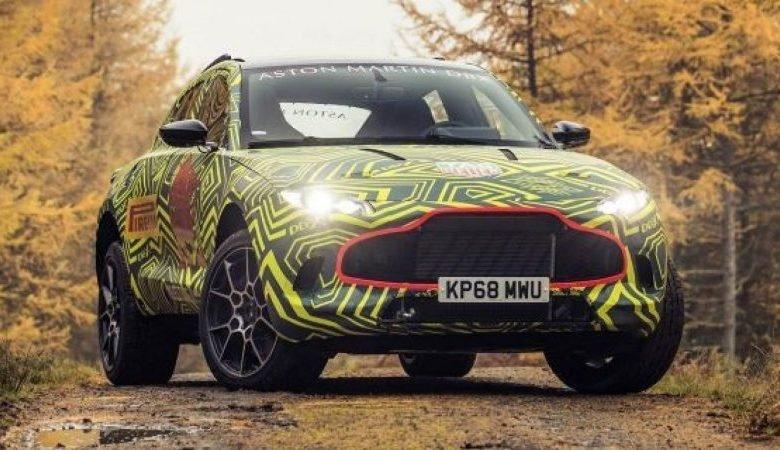 Photo of Aston Martin SUV DBX İsveç'te Test Ediliyor