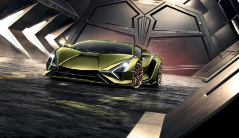 Photo of Lamborghini Sian Hibrit Frankfurt Otomobil Fuarında