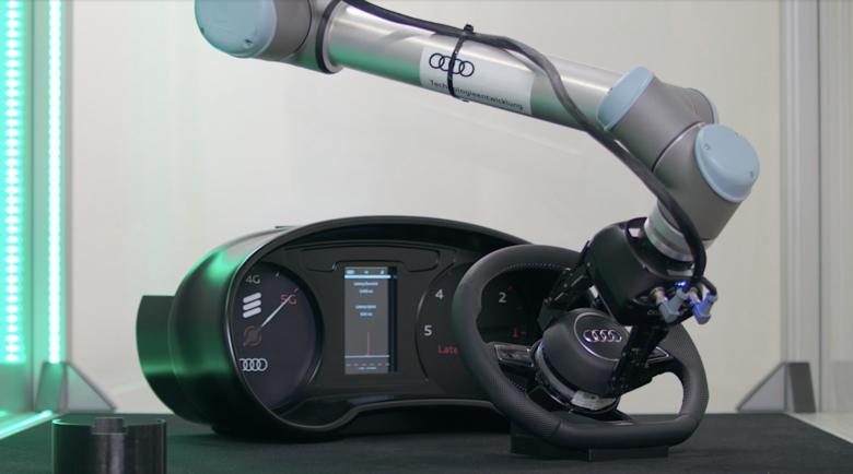 Photo of Audi 5G Teknolojiyle İnsan ve Robotların Ortak Çalışmasını Başlatıyor