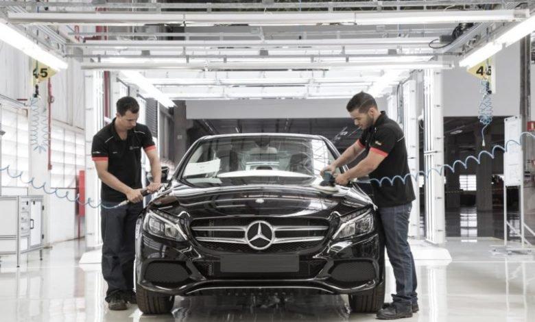 Photo of Mercedes Benz Fabrikalarını 2 Hafta Süreyle Kapattı
