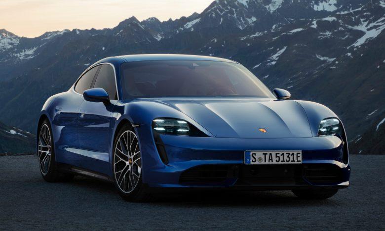 Porsche Taycan Elektrik