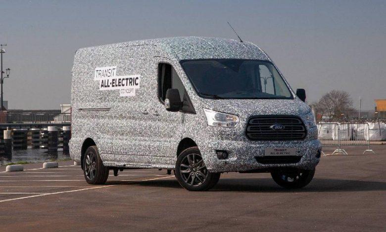 Ford Elektrikli Transit